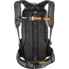 EVOC FR Enduro Protector Backpack 16l, carbon grey/loam